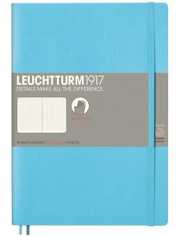 Leuchtturm1917 Notizbuch Softcover ice blue dotted