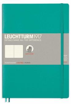 Leuchtturm1917 Notizbuch B5 Softcover smaragd dotted