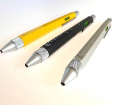 Kugelschreiber Construction silber