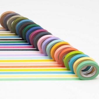 mt Masking Tape: 20 Farben