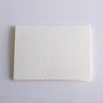 Grußkarte thank you