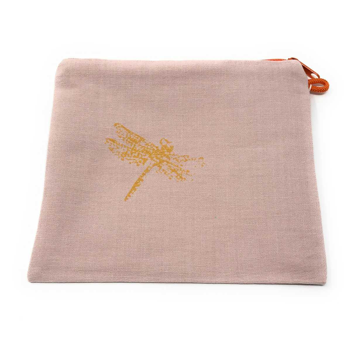 Federmäppchen mit goldener Libelle