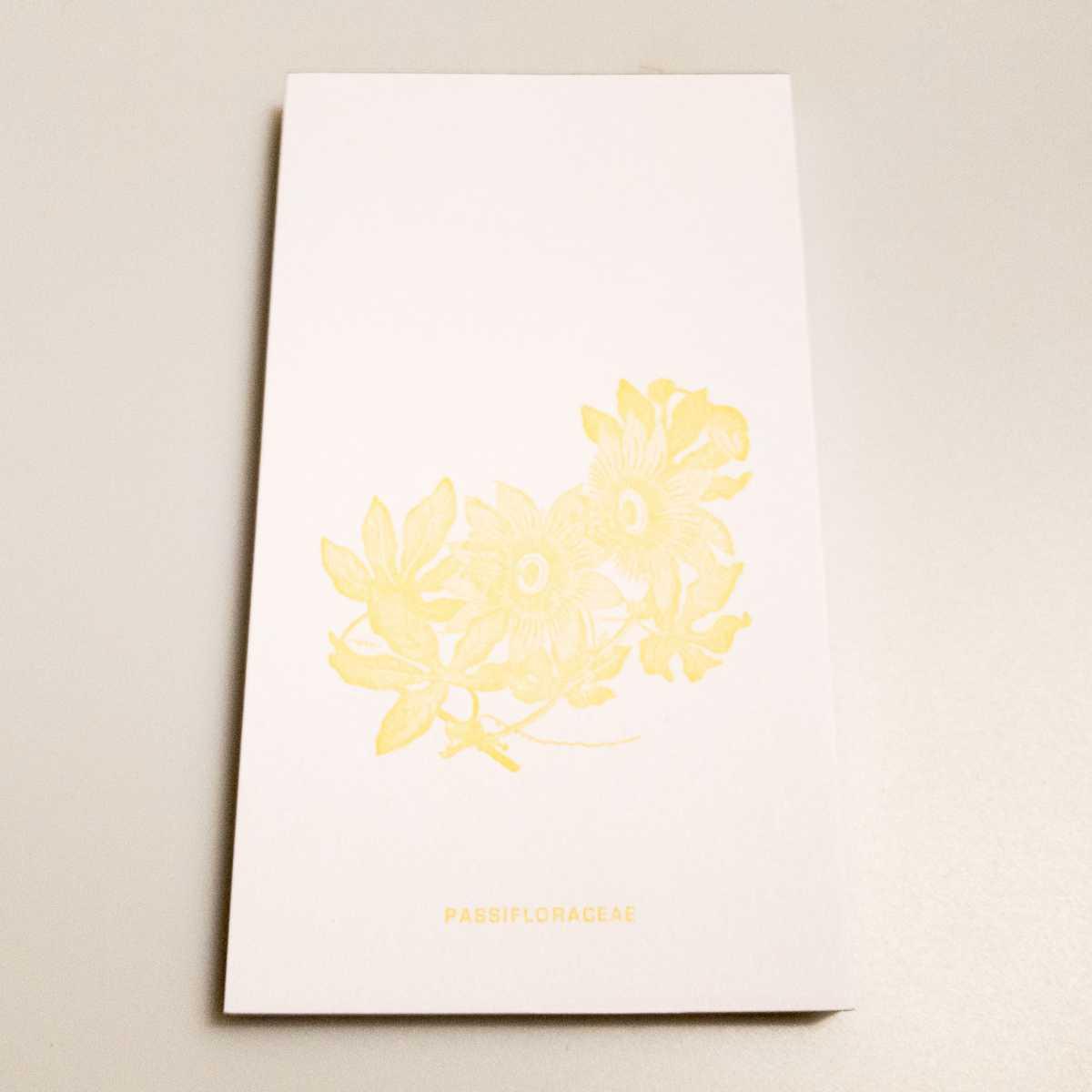 Notizblock Blumen