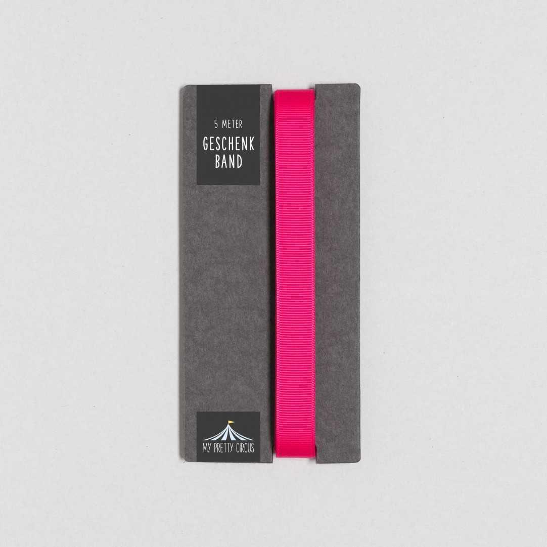 Geschenkband pink | 5 Meter